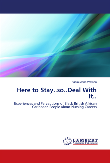 Here to Stay...so...Deal With It.. Book cover