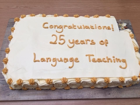 Congratulations! 25 years of Language Teaching